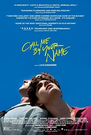 Call Me by Your Name - Beni Adınla Çağır 2017